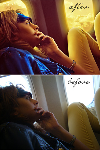 креативная художественная ретушь, пример до и после, фотоарт © Красных Катерина