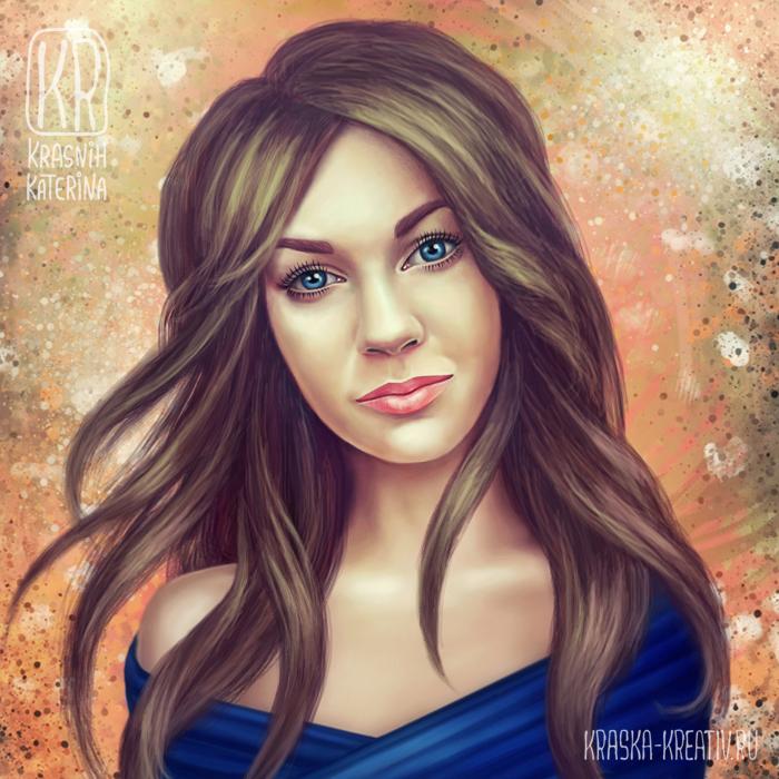 digital art, fantasy portrait, illustration