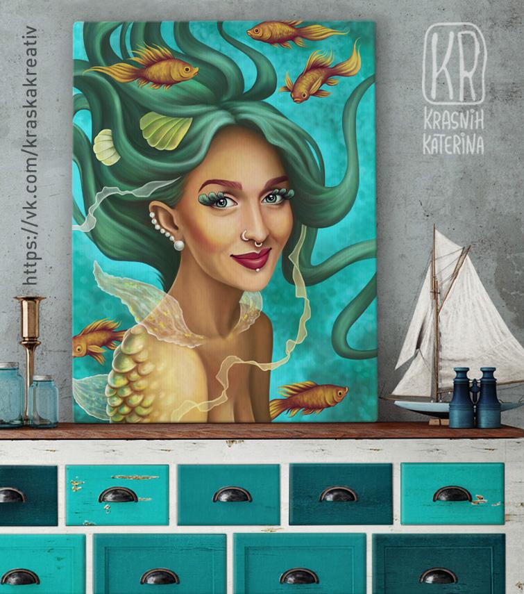 mermaid-by-kraska