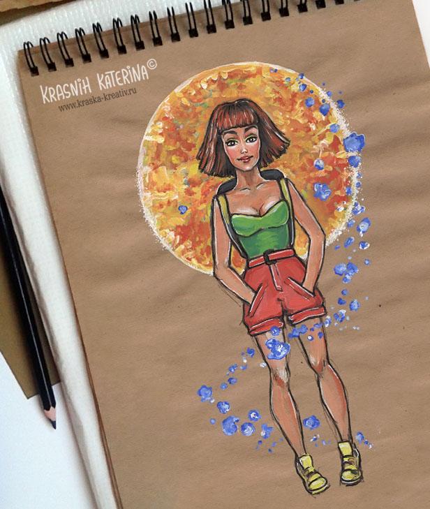 sketch by KrasKa