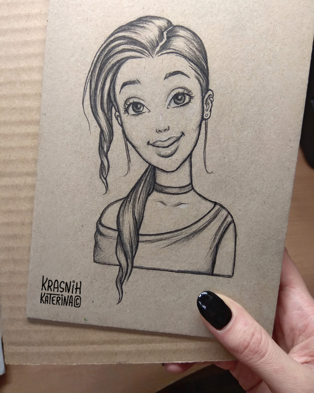 sketch hand drawing illustration by @kraskakreativ