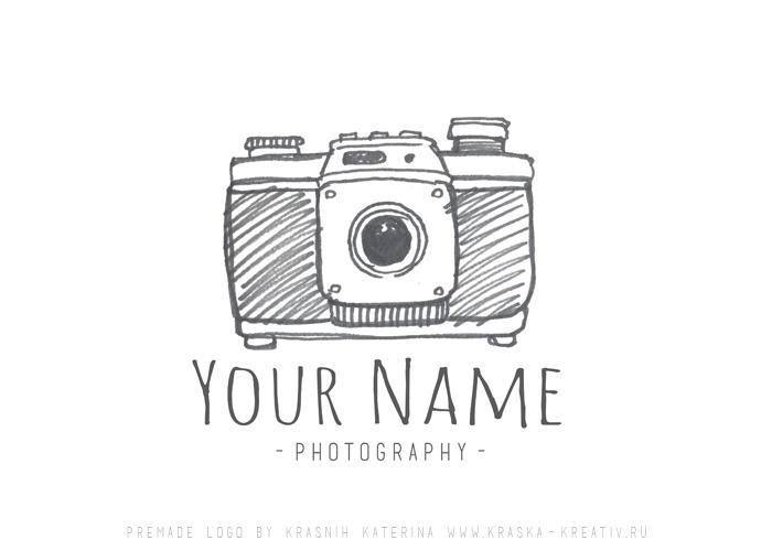 купить готовый и недорогой логотип для личного использования, дизайн лого для фотографа